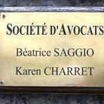 La plaque professionnelle d'avocat selon CGC avocats